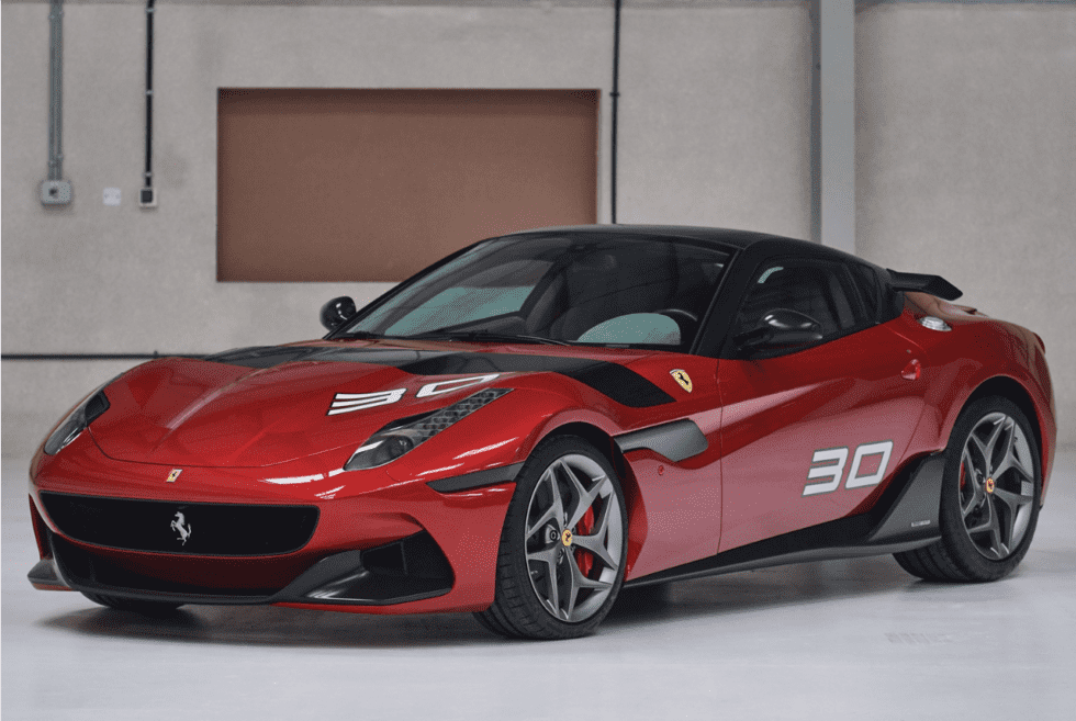A Bespoke 2011 Ferrari SP30 Goes Up For Auction