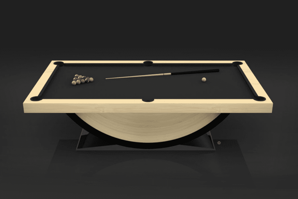 11 Ravens Theseus Pool Table