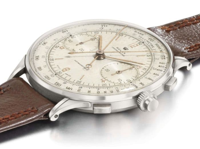 1942 Rolex Antimagnetique Reference 4113 Split-Seconds Chronograph