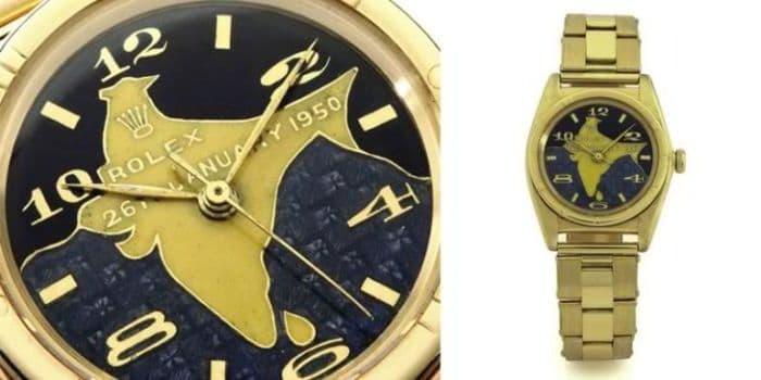 Dr. Rajendra Prasad's Gold Rolex Oyster Perpetual