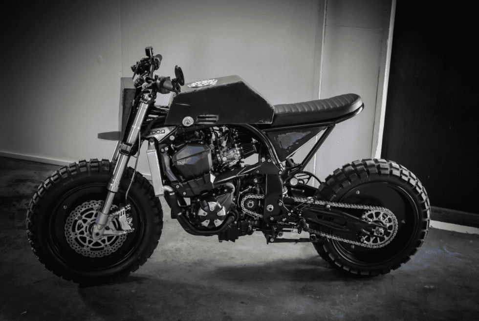 Kawasaki Z1000 Urban Fighter By Droog Moto