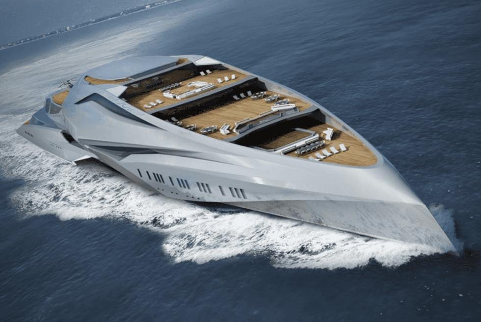Chulhun Design Valkyrie Superyacht
