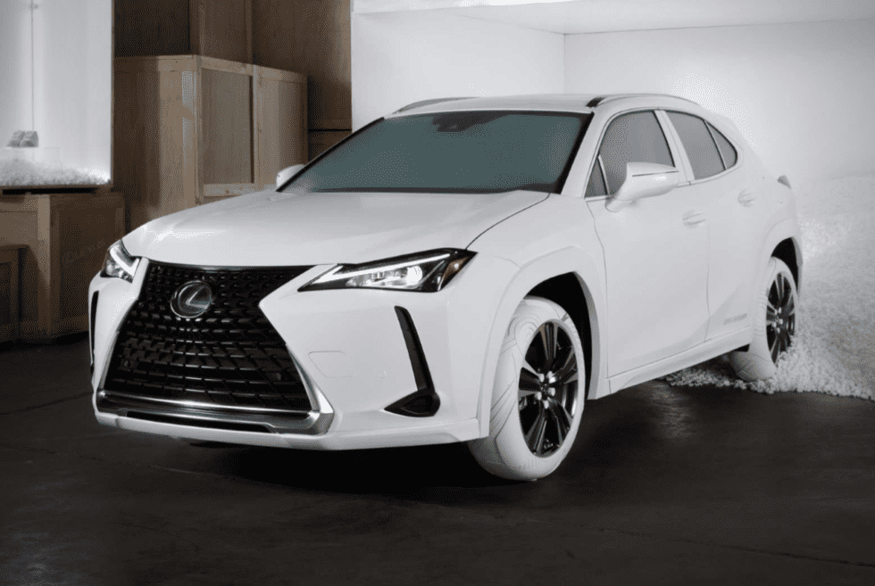 Lexus UX Tires Inspired By Nike Air Force One