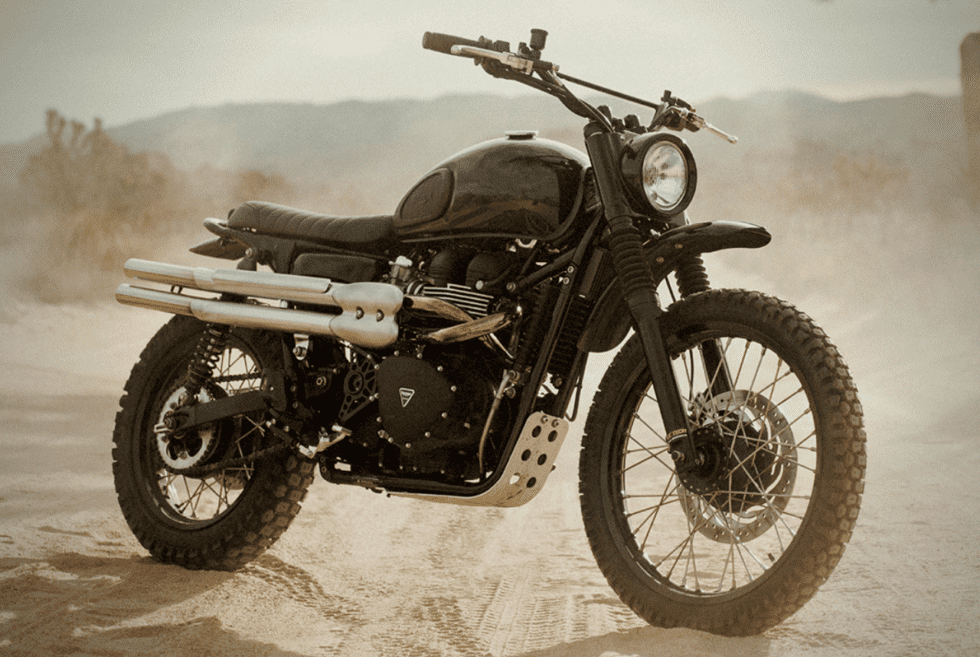 The Sinister 2017 Triumph Scrambler By Ben Giese
