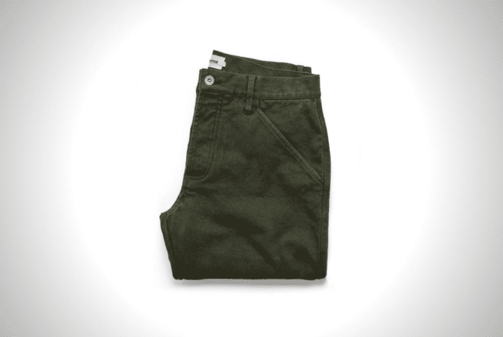 Work Pants Made From Ultra-Durable Tuff Duck