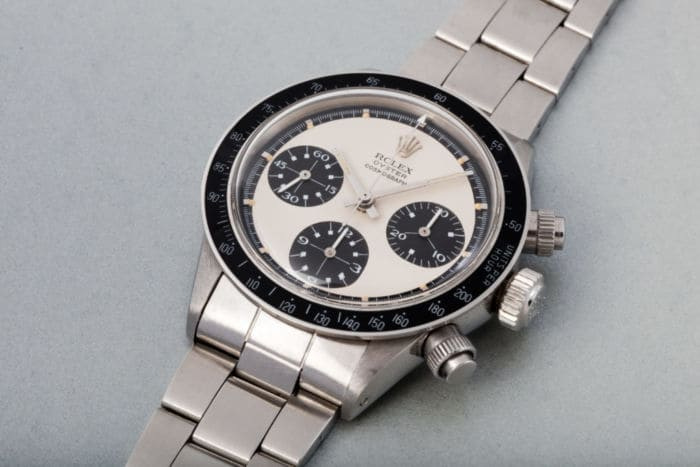 Paul Newman's 1969 Rolex Daytona The Legend— $4.18 Million