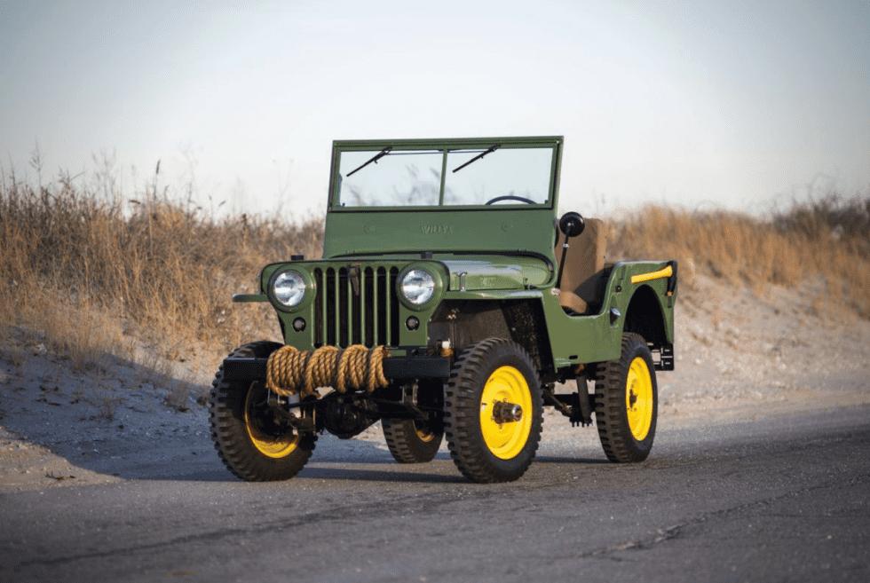 1947 Willys CJ2A Jeep