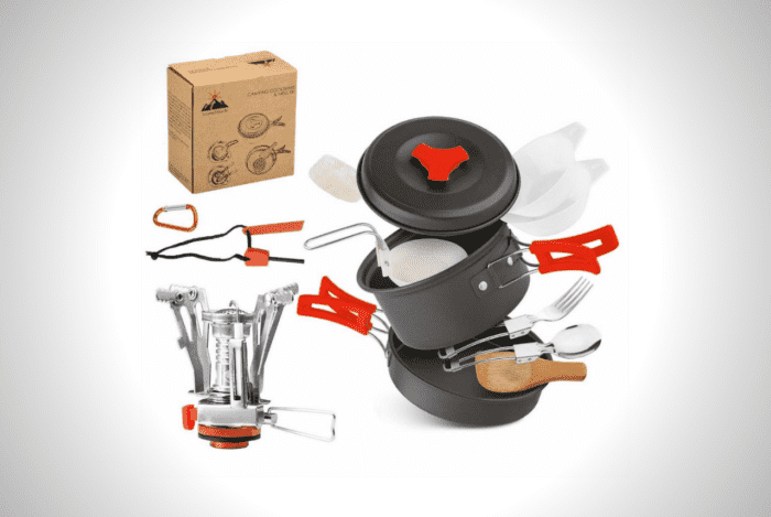 AnimaMiracle Camping Cookware Set