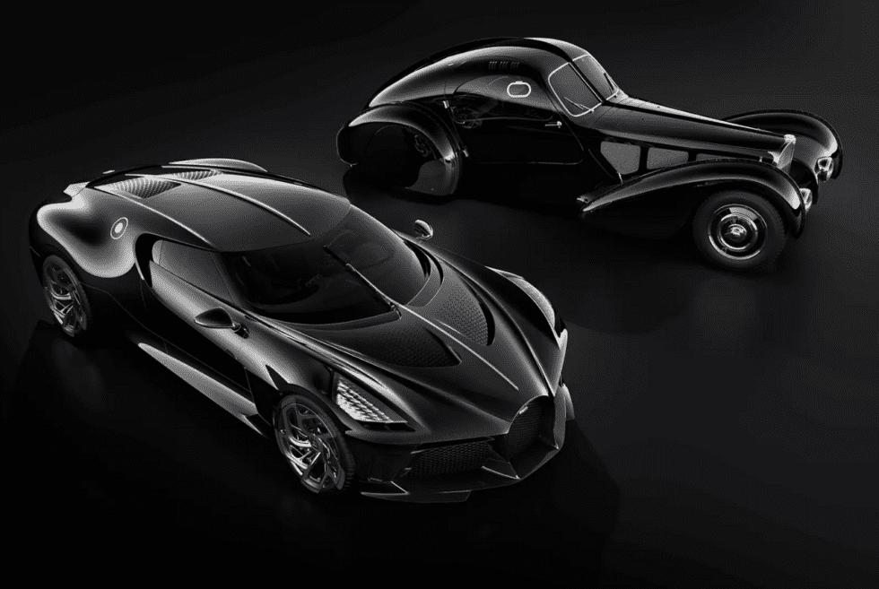 The Bugatti La Voiture Noire Is A $19 Million One-Off Monster