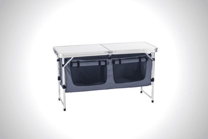 CampLand Adjustable Folding Table
