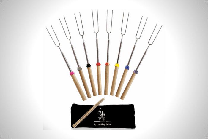Extending Marshmallow Roasting Sticks