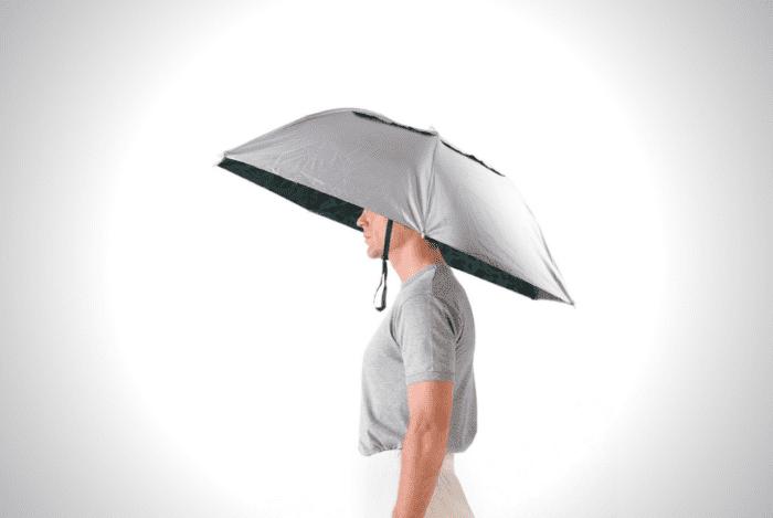 Folding Umbrella Hat