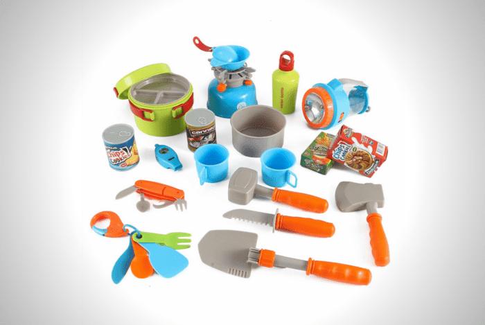 Little Explorers 20-Piece Camping Gear