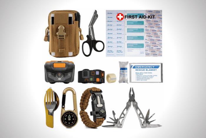 Mastersos Survival Emergency Kit