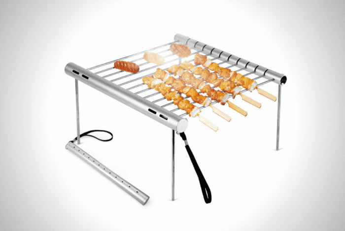 NASHRIO Portable And Foldable Camping Grill