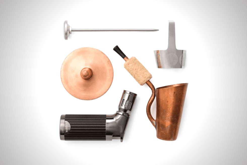Portable Coffee Brewer And Pipe Kit