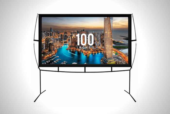 Portable Outdoor Movie Theater