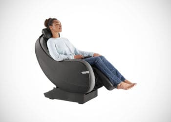 Brookstone Rock and Recline Shiatsu Massage Chair