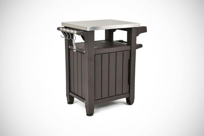 Keter Unity Indoor/Outdoor BBQ Storage Table