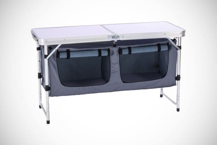 Best Choice Products Portable Grilling Table with Carrying Case
