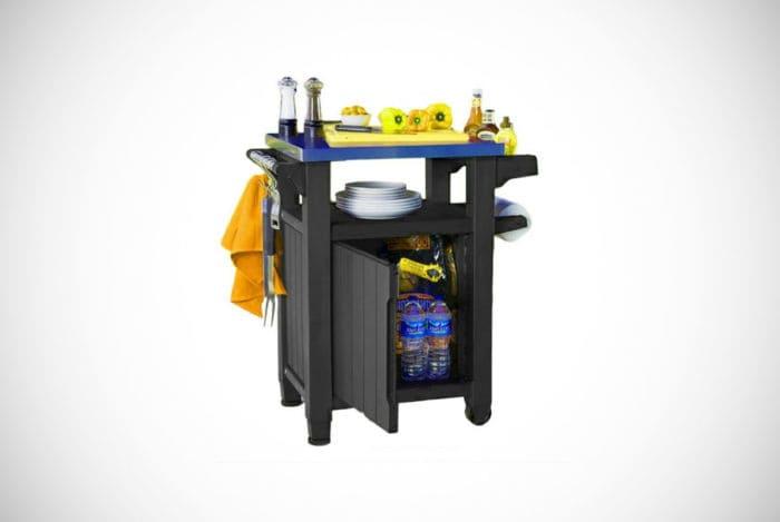 Giantex 80-Quart Patio Rolling Cooler