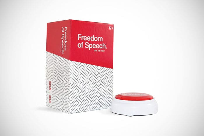 Freedom of Speech Adult Board Game