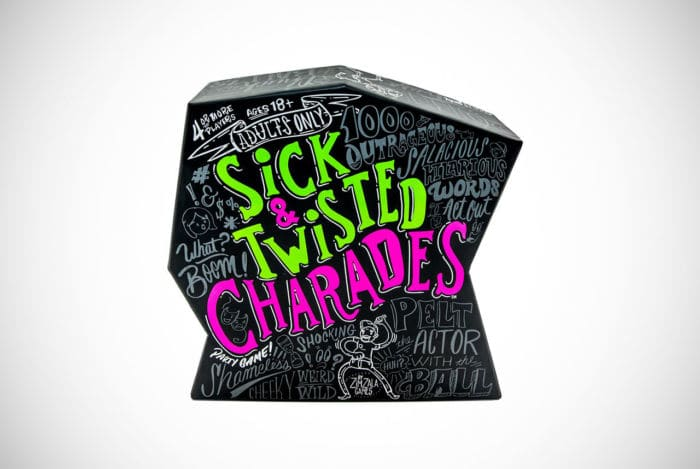 Wonder Forge Sick & Twisted Charades Game