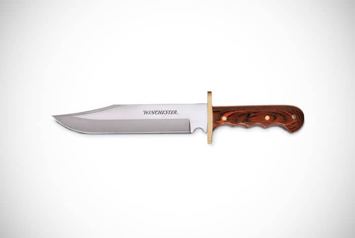 Winchester Brown Large Bowie Knife