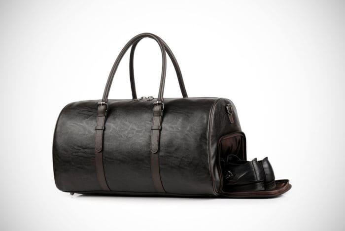 Doreamale Leather Men Gym Bag