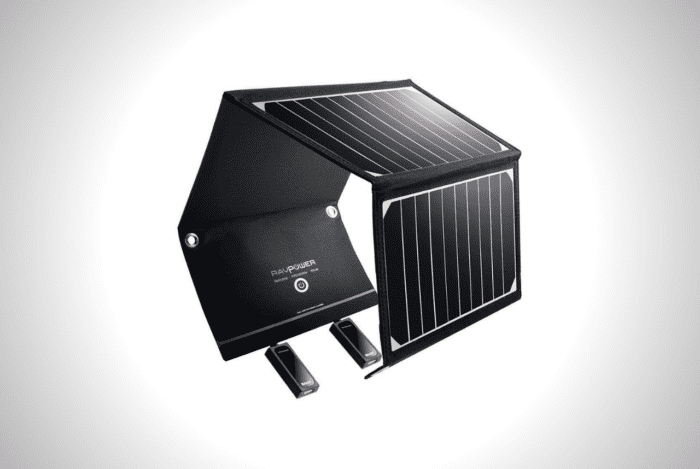 RAVPower Foldable Solar-Powered Charger