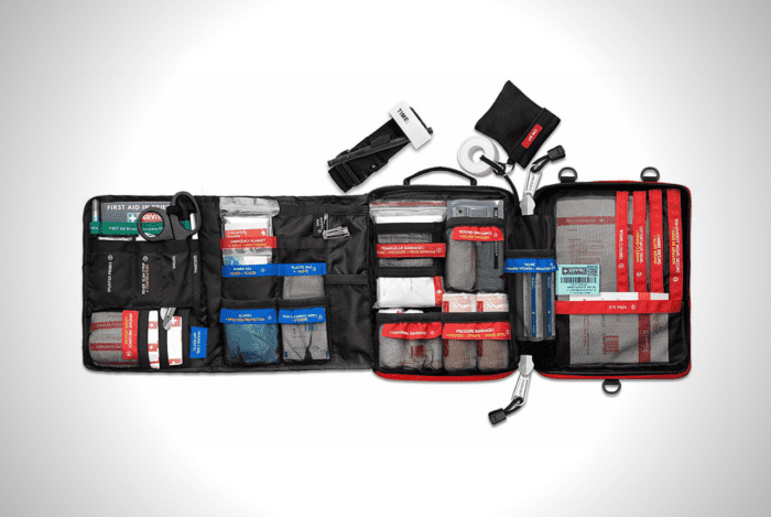 Survival First Aid Kit For HomeOutdoor Use