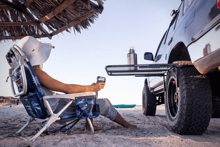 TailGater Tire Table Vehicle