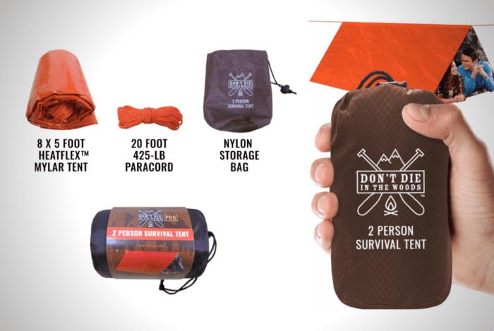 The World's Toughest Ultralight Survival Tent
