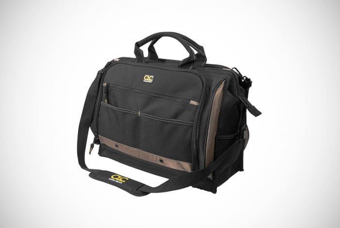 Custom Leathercraft Multi-Compartment 50-Pocket Tool bag