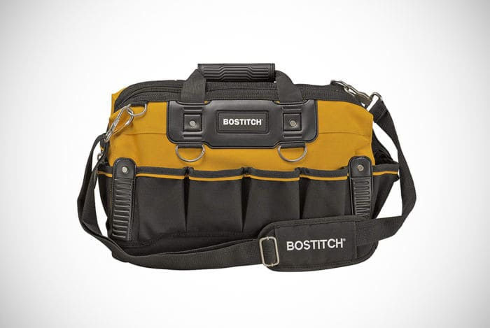 BOSTITCH Open Mouth 16-inch Tool Bag