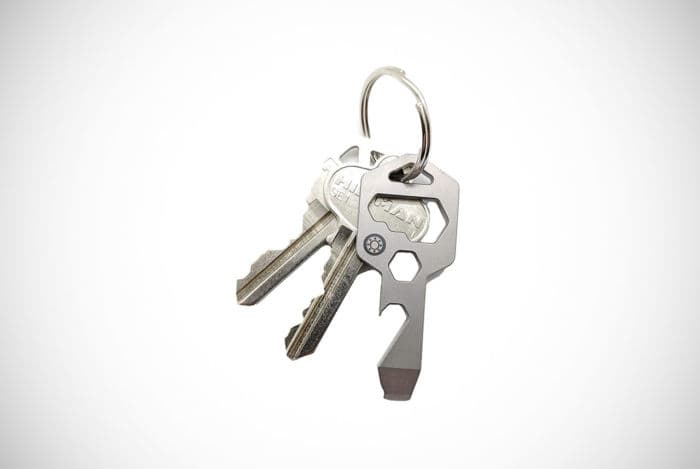 Closs Industries 8-in-1 Keychain Multitool