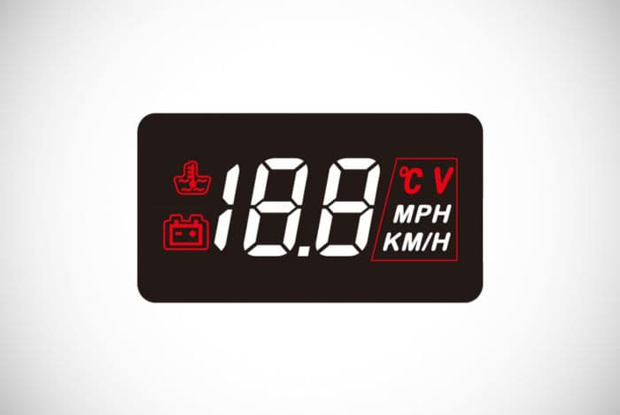 Sherox Head-Up Speed Monitor