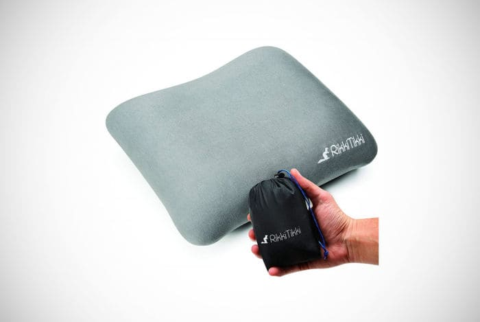 RikkiTikki Inflatable Camping Pillow