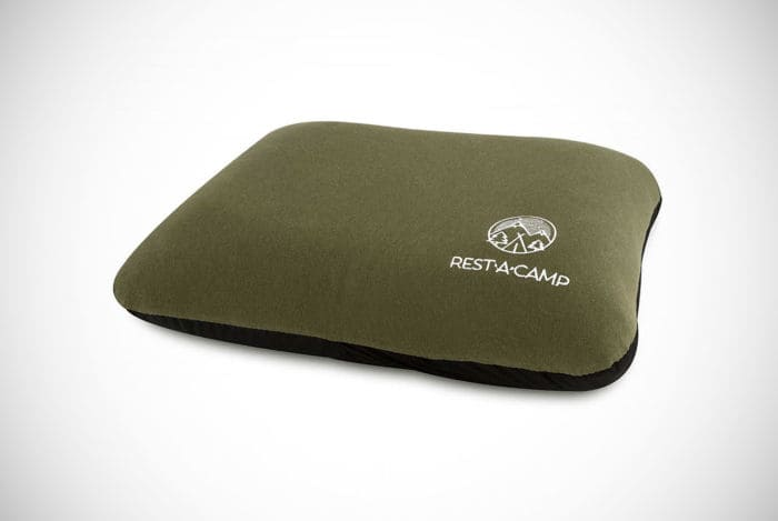 Rest-A-Camp Inflatable Camping Travel Pillow