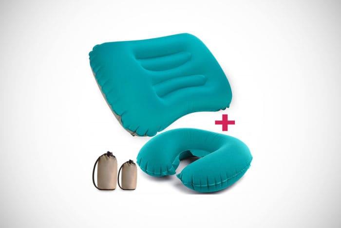 Trekology Ultralight Inflating Travel/Camping Pillow