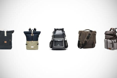 Rolltop Backpacks Feature