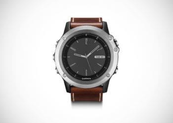 Garmin Fenix 3 Hiking Watch (Leather Strap)