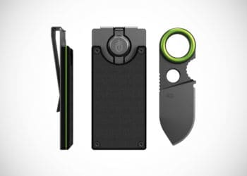Gerber GDC Money Clip with Built-in Fixed Knife