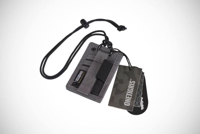 OneTigris Shot Put ID Card Holder