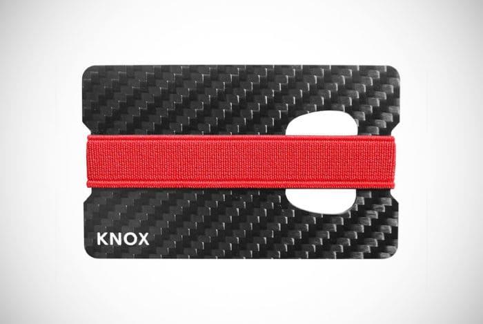 Knox Carbon Fiber Money Clip Wallet