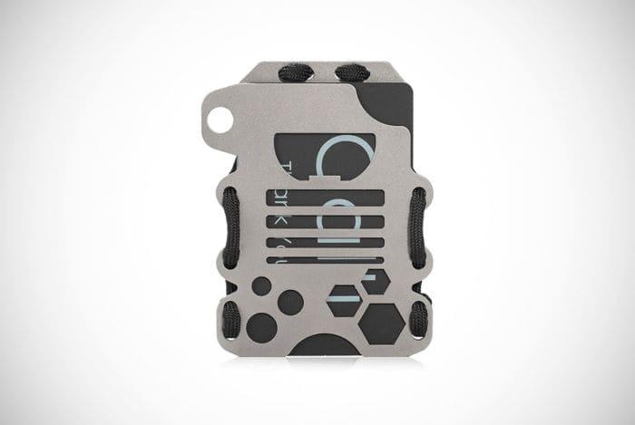 Calti Tactical Titanium EDC Wallet