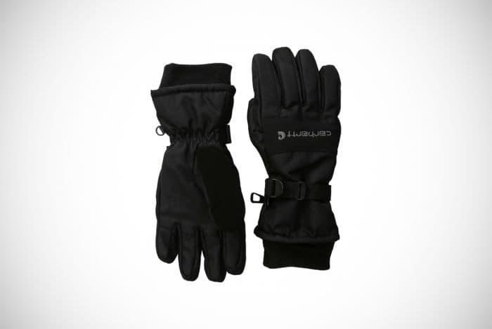 Carhartt Waterproof Men's W.P Insulated Black Gloves