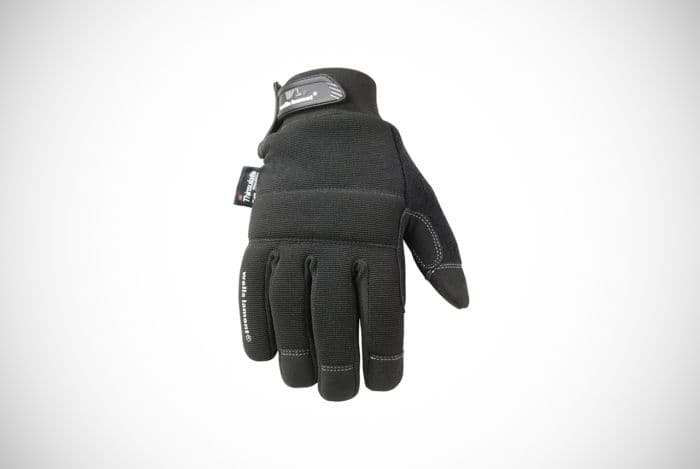 Wells Lamont 7760L Insulated Black Winter Gloves