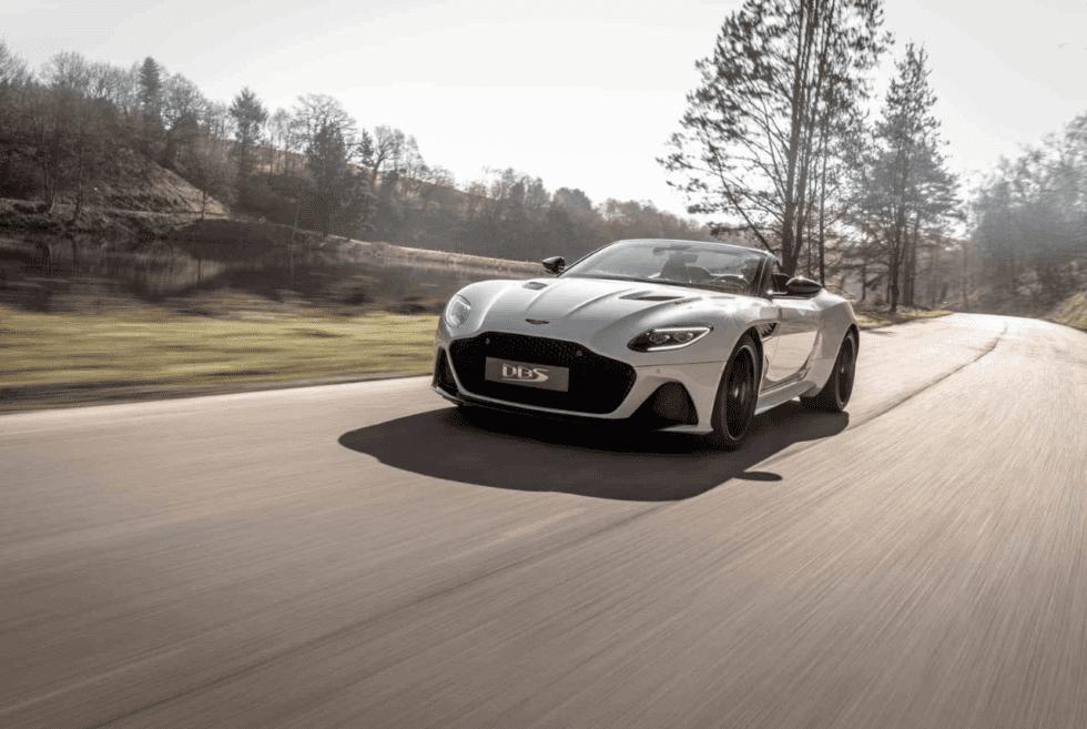The 2020 Aston Martin DBS Superleggera Volante Take Its Top Off