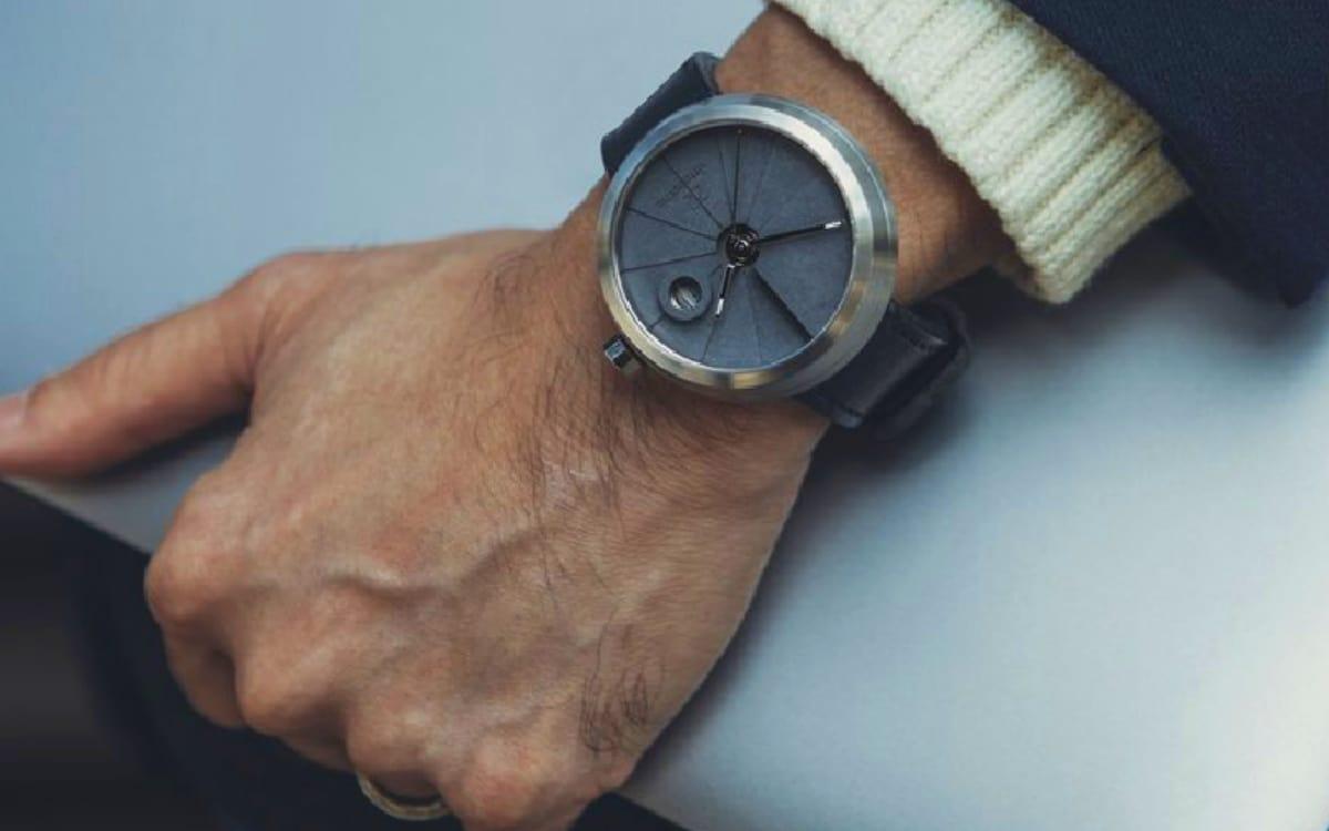 4D Concrete Minimalist Watch